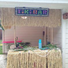 Tiki Bar for luau