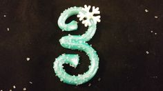 Birthday # / number - Snowflake inspired with snowflake. Edible Pearl Dust, Winter Onederland, Birthday Numbers, Light Purple, Clear Crystal, Snowflakes, Sparkle, Notes, Sugar
