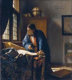Johannes Vermeer - The Geographer