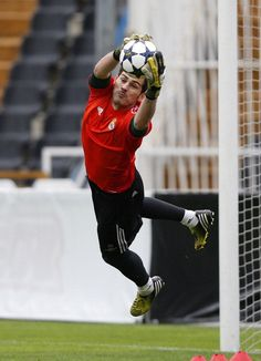 Entrenamiento del Real Madrid | Iker Casillas.
