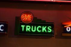 GMC Trucks Neon