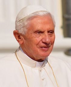 265) Benedict XVI, Papa BENEDICTUS Sextus Decimus; 19 April 2005 – 28 February 2013 (7 years, 315 days); Joseph Aloisius Ratzinger; 78 / 85; Oldest to become pope since Clement XII (1730). Elevated the Tridentine Mass to a more prominent position and promoted the use of Latin; re-introduced several disused papal garments. Established the Anglican Ordinariate. First pope to renounce the papacy on his own initiative since Celestine V (1294), retaining regnal name with title of Pope Emeritus.