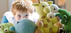 """Of M. Richard, Stacey says: """"This big whale was tired of the spotlight, so now he goes by his middle name. No need to go out into the deep to find him. This cute and cuddly guy is right at your fingertips when you're holding a crochet hook."""""""