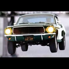"1968 Ford Mustang from ""Bullitt"" They did a lot more work to the Mustang than they did to the Dodge"