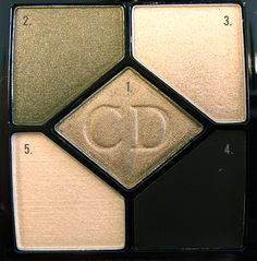 Dior 5 Couleurs All-In-One Artistry Palette  308 Khaki Design
