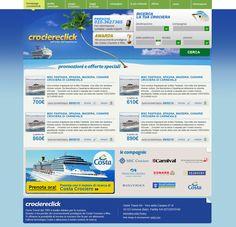 Crociereclick.it website