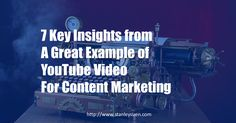 RT @stanleysuen: Why this YouTube video is a great example for content marketing https://t.co/TfL4Xeoh2t #ContentMarketing #DigitalMarketing