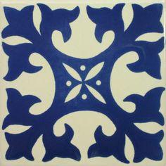 Especial Decorative Tile - Ortega Azul