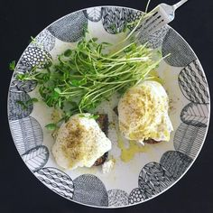 Breakfast is served! Organic poached eggs on toasted home made bread / sprinkled with green chilies, Himalayan pink salt and pepper, dress with a touch of high quality olive oil
