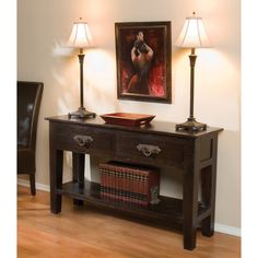 Inspired by architectural artifacts, this beautiful rich acacia wood with distressed iron can be displayed as a piece of artwork in any room. This side table has a vintage and rustic look that giving you a classic style for your home.
