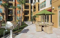 Who's ready to have a cookout? Paseo at Winter Park Village Luxury Apartments in Winter Park, FL
