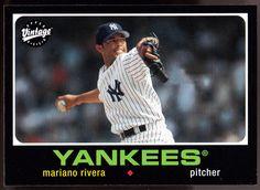NEW YORK YANKEES 2002 UPPER DECK VINTAGE MARIANO RIVERA VINTAGE 1971 #NewYorkYankees