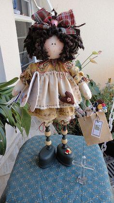 JANA- O ANJO DE FOLGA - por Cris Lind by Cris Lind Ateliê, via Flickr