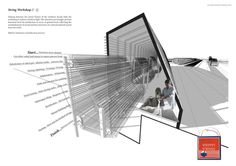 Nice incorporation of text within an image. 'Augmented Reverberation' by William Gowland