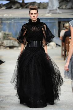 Chanel at Paris Haute Couture Fashion Week | Fall 2013