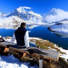 Switzerland, Grindenwald-Bachalpsee