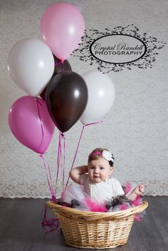 Loving the basket idea, Cake Smash, One Year Old Birthday Photo Ideas, Photography One Year Birthday, 1st Birthday Photos, Baby First Birthday, Baby Girl Photography, Birthday Photography, Children Photography, One Year Pictures, Cute Baby Pictures, Cake Smash Pictures