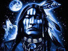 Blue Indian Brave