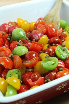 roasted cherry tomatoes recipe : ina garten : food network