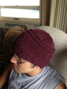 Ravelry  Ese patrón de sombrero de Guernsey fácil por Christine Roy Gorros  A Dos Agujas 2a1282655aa