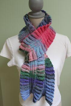 Molly Scarf, Classic Elite Yarn, Liberty yarn.  Have pattern and yarn.  Must make!
