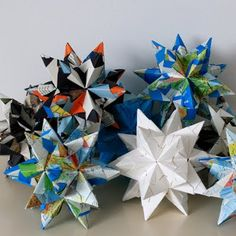 Origami christmas star. Jodiijodii / about the handmade: HOW TO