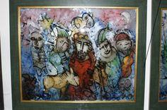3 Koncert na tafli szkła. Malarstwo Krzysztofa Okonia w Nikiforze - zdjęcie #3