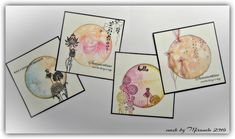 """'Mir'acle Art Inspirations: Chocolate Baroque inspirations & 4"""" round Gelli-plate Gelli Plate Printing, Baroque Design, Art Van, Pretty Images, Distress Ink, Paper Design, Crafts To Make, Cardmaking, Paper Crafts"""