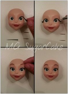 MG Sugarcake Princess Sofia face  6
