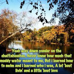 Country lyrics country quotes Chattahoochee Alan Jackson