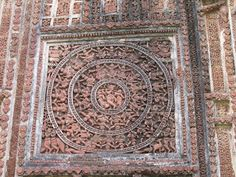 Terracotta at its best - one of the most outstanding examples for Pancha Ratna style - Shyamarai Temple  A visit to West Bengal without Bishnupur or a visit to Bishnupur without visiting Shyamarai is meaningless.  #IndianColumbus  http://indiancolumbus.blogspot.com/2016/02/shyamrai.html