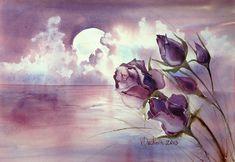 Veneta Docheva. Акварельные цветы. Обсуждение на LiveInternet - Российский Сервис Онлайн-Дневников