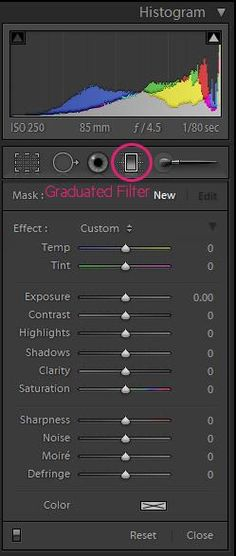 5 Tips for Working with the Graduated Filter