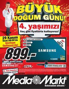 Media Markt Göztepe 29 Kasım Doğumgünü İndirimleri