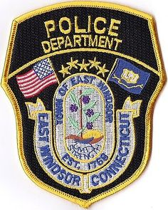 East Windsor Police Connecticut patch CT NEW!