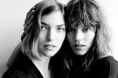 So, according to Elle's Market Editor, Joann Pailey, people at the Paris couture shows are saying that models Arizona Muse and Freja Beha Erichsen are