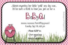 cute BBQ Baby Shower!
