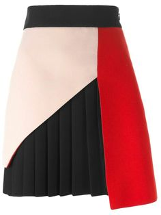 Fausto Puglisi panelled pleated skirt in Julian Fashion from the world's best independent boutiques at . Shop 300 boutiques at one address. Skirt Outfits, Dress Skirt, Cute Outfits, Skirt Fashion, Fashion Dresses, Nice Dresses, Corset Dresses, Prom Dresses, Short