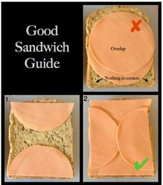 This actually works. I use this all the time for my sandwiches. :D  ~The Honorable T-Rex~