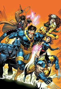 Just in Last One X Men Wolverine Gambit Rogue Psylocke Jim Lee Marvel Poster Comic Book Artists, Comic Book Characters, Comic Book Heroes, Marvel Characters, Comic Character, Comic Books Art, Comic Art, Arte Dc Comics, Bd Comics