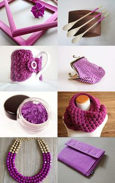 Radiant Orchid on Etsy