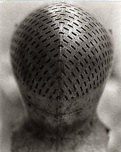 Tournament Helm of Sir Giles Capel, 16th century, The Metropolitan Museum of Art  Tanya Marcuse  (American, born 1964)  Date: 2002-2003  Medium: Platinum-palladium print.