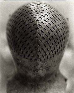 Tournament Helm of Sir Giles Capel, 16th century, The Metropolitan Museum of Art  Tanya Marcuse  (American, born 1964)  Date: 2002-2003  Medium: Platinum-palladium print