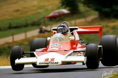 James Hunt, McLaren-Ford, #11, (finished 1st), German GP, Nurburgring, 1976.