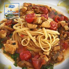 LINGUINE CON SUGO DI PESCESPADA E MELANZANE  Abbiamo preparato tante ricette gustose di mare con i nostri prodotti, preparale anche tu. Ittimar Basso Adriatico Via Appia 10/12 - Savelletri di Fasano Tel. 0804827920/1 info@ittimaradriatico.it www.ittimaradriatico.it #sicilianfood  #sicilia #sicily  #italianfood
