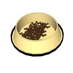 Dog bowl Sketchup model