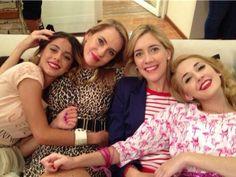 Violetta,Priscila,Angie,Ludmila.