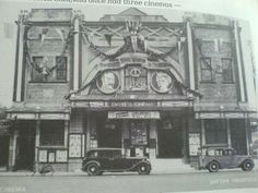 The Empress Cinema, Sutton Coldfield. remember seeing this being demolished to make way for the new library etc