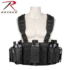 a01491f72b2dea Rothco Operators Tactical Chest Rig - perfectly lightweight for indoor  fields #airsoft #tactical #