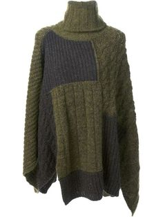 Shop Isabel Marant Étoile knitted cape in Petra Teufel from the world's best independent boutiques at farfetch.com. Over 1000 designers from 60 boutiques in one website.